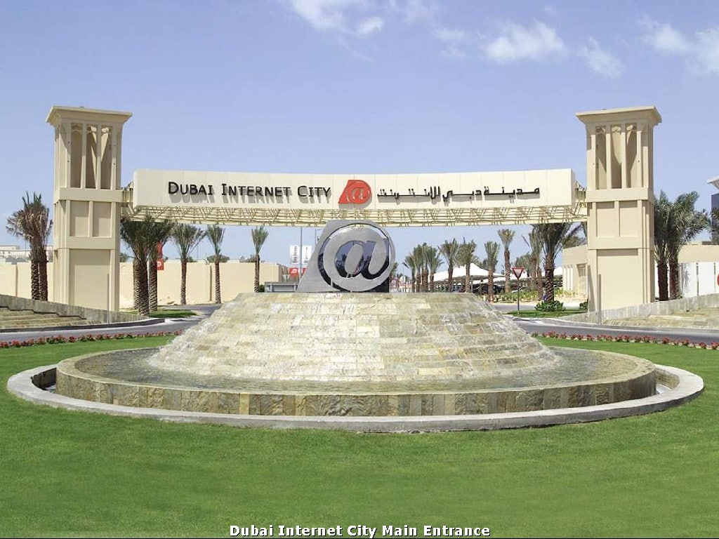 Dubai Internet City free zone. DIC free zone