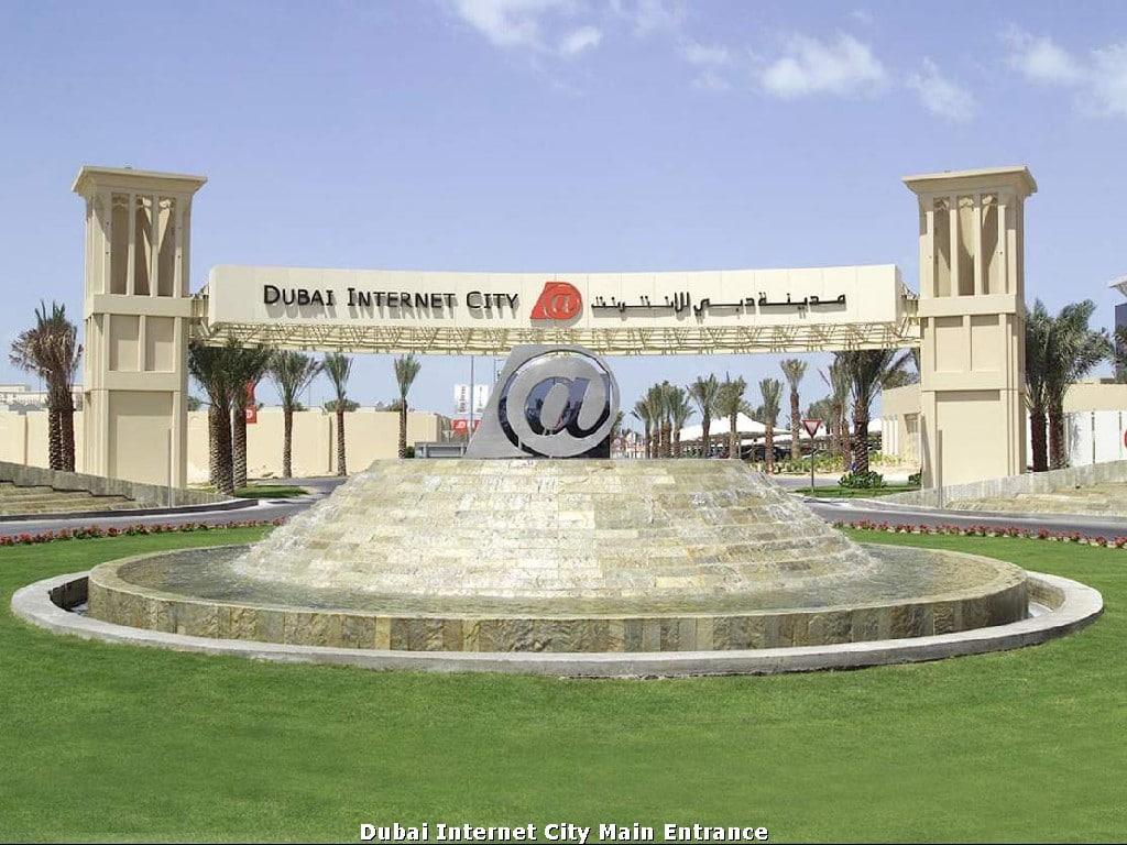 Dubai Internet City free zone. DIC free zone
