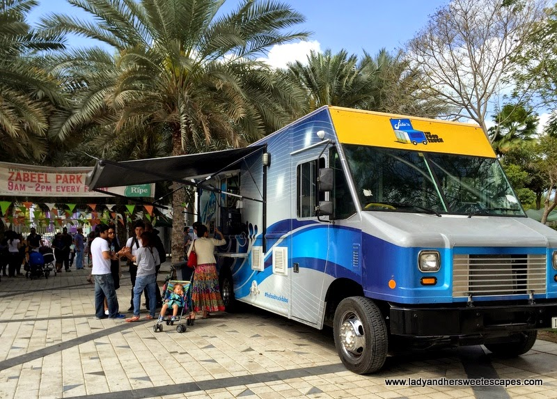 food truck business Dubai